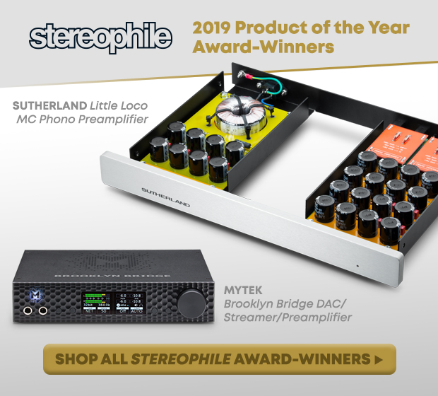 2019 Stereophile Product Of The Year Awards