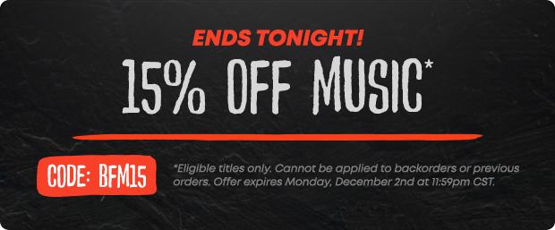 Black Friday Music Sale