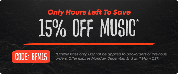 Black Friday Music Sale