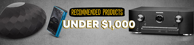 Recommended Gear Under $1000