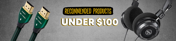 Recommended Gear Under $100