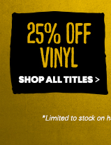 Clearance Music 25% Off