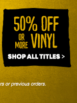 Clearance Music 50% Off