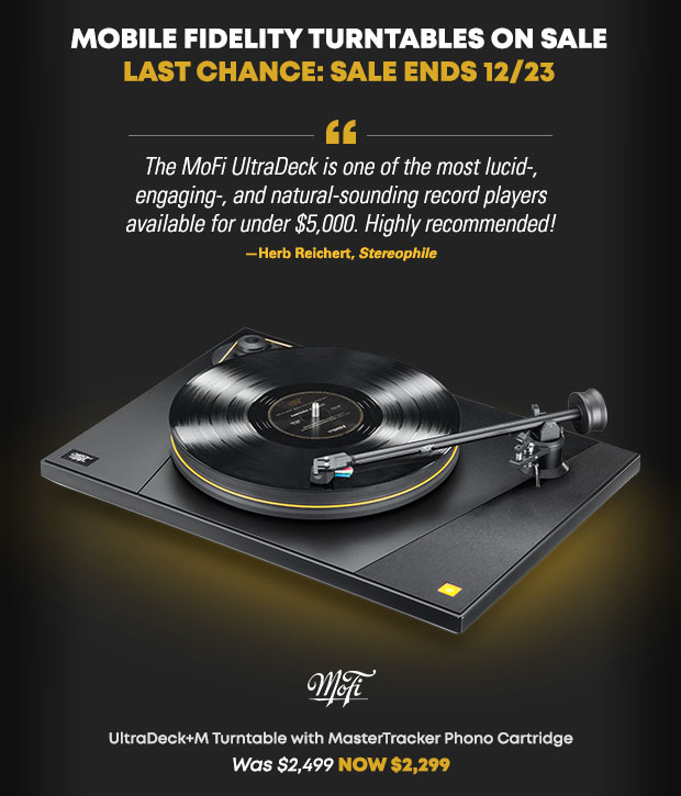 MoFi Turntable Sale 1